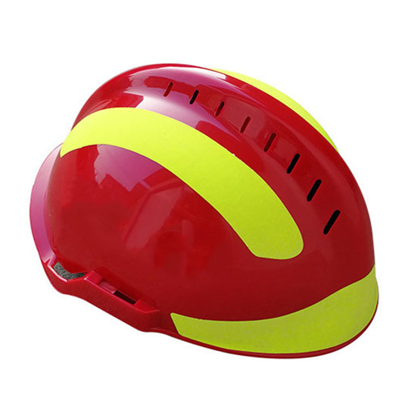 Safety rescue helmet firefighter protective reflective helmet workplace fire protection hard hat