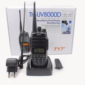 Image 5 - 2 יח\חבילה שדרוג גרסה צלב להקת מהדר פונקצית VHF UHF TYT TH UV8000D חובב רדיו 10KM גבוהה 10W ציד ווקי טוקי