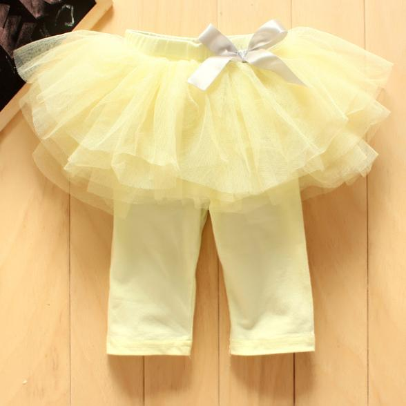 0-3Y-New-Fashion-Baby-Girl-Kids-Culottes-Leggings-Gauze-Pants-Party-Skirts-Bow-Tutu-Skirts-5
