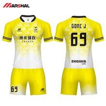 купить Soccer Uniform Customized Team Practice Football Jersey Sublimation Custom Youth Sports Outfits Colthes 2019 Football Uniforms по цене 2639.84 рублей