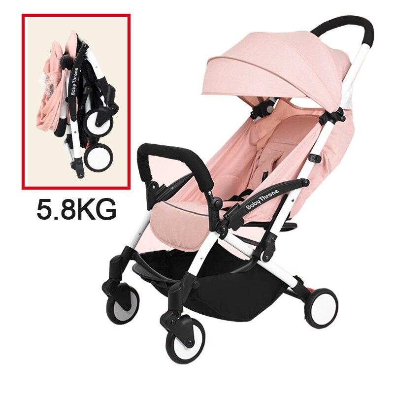 Baby Throne Portable Baby Stroller Light Weight Umbrella Stroller Baby Wheelchair Prams Carriage For Newborns Children