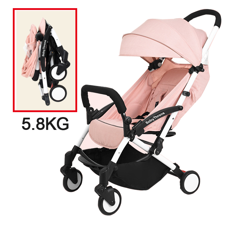 Baby Throne Portable Baby Stroller Light Weight Umbrella Stroller Baby Wheelchair Prams Carriage For Newborns Children Kids