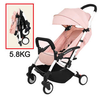 Baby Throne Portable Baby Stroller Light Weight Umbrella Stroller Baby Wheelchair Prams Carriage For Newborns Children Kids - DISCOUNT ITEM  32% OFF All Category