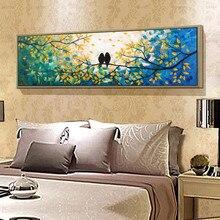 Декоративный настенный плакат на холсте с принтом птицы, настенные картины для гостиной, пейзаж без рамы, картина с животными