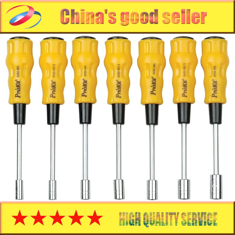 free shipping brand proskit 1pk 9402 7pcs electronic hex nut driver set precision screwdriver. Black Bedroom Furniture Sets. Home Design Ideas