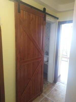 For Russian Door Barn Track Home Sliding Wood Barn r Rail Hardware Sliding Door Track Kit Barn Door System Slide Kit