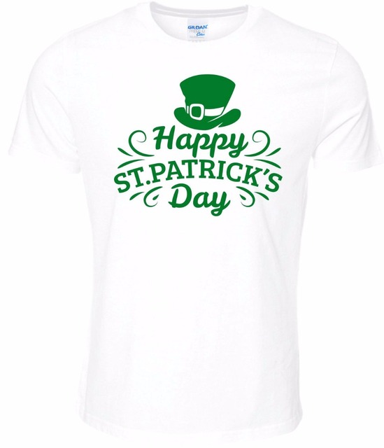 b32027d1 2019 Summer Style Special Print Men Happy St Patrick's Day Tee Shirt  Ireland Paddy Green Top Dublin Patricks Party T Shirts