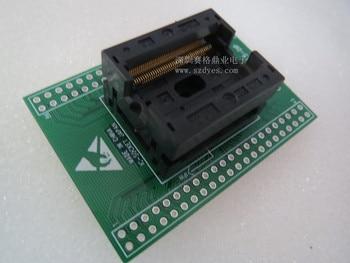 OTS-86-0.5-04 TSOP86/DIP SSOP86 spacing 0.5mm  IC Burning seat Adapter testing seat Test Socket test bench in stock free ship