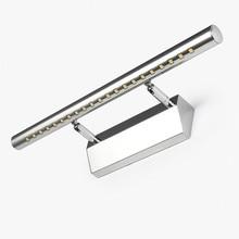 купить Stainless Steel LED Bathroom Mirror Wall Light 85-265V Modern Minimalist 5W 3W Mirror Lamp Lighting for Bedside lampara pared по цене 639.5 рублей