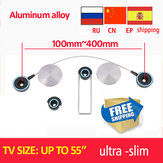 free shipping D-mount aluminum alloy ultra Slim LED Bracket 15