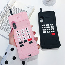 Pink TPU Case For iPhone X XS Xs Max XR 8 Plus 7 Plus Soft Cases Personality Trend Phone Cover For iPhone 6S Plus 6 Plus Case цена