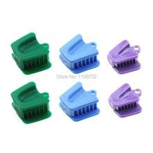 2 Sätze Dental Material Silikon intraorale unterstützende Gerät Mund Prop Biss Block Gummi Opener Latex frei