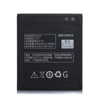 2019 2000 mAh nowe BL 210 BL210 baterii dla Lenovo A536 A606 S820 S820E A750E A770E A656 A766 A658T S650 telefon wymienić baterię