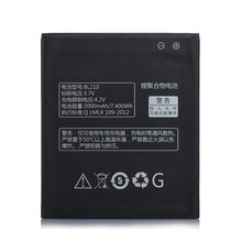 2019 New 2000mAh BL 210 BL210 Battery for Lenovo A536 A606 S820 S820E A750E A770E A656 A766 A658T S650 Phone Replace battery(China)