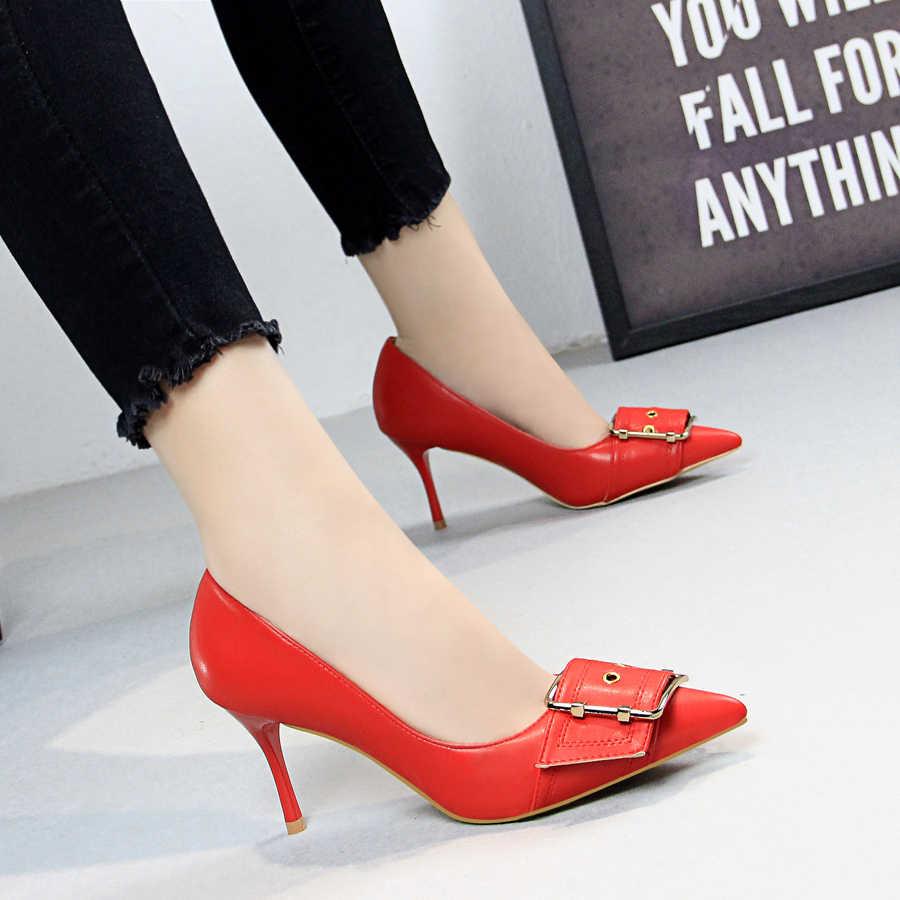 2019 phụ nữ giày cao gót bơm phụ nữ tiếng váy cưới nữ giày dép cực cao gót zapatos mujer tacon tenis feminino
