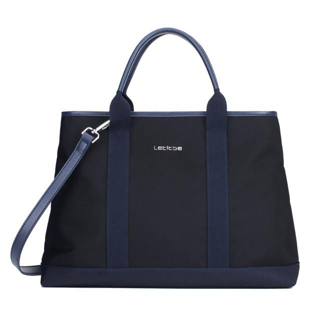 Let It Be 2017  women tote bag oxford nylon shoulder bag popular work bag black purse for womens