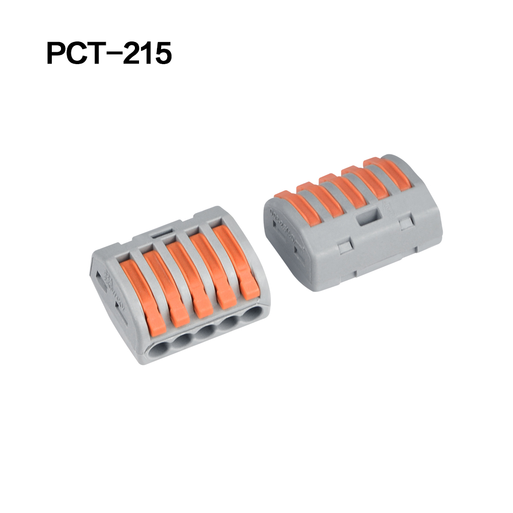 100/20/10 шт. 222-412 222-413 222-415 клеммы соединители 0,08-2,5 мм мини-разъем провода Проводник винторезный станок сплиттер - Цвет: 222-415