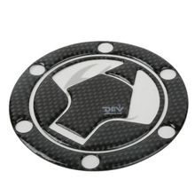 Carbon Fiber Fuel Gas Tank Cover Pad Sticker Decal For Kawasaki Ninja300 EX250R