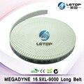 9 метров 16.9xl megadyne зубчатый ремень для растворитель для струйного принтера