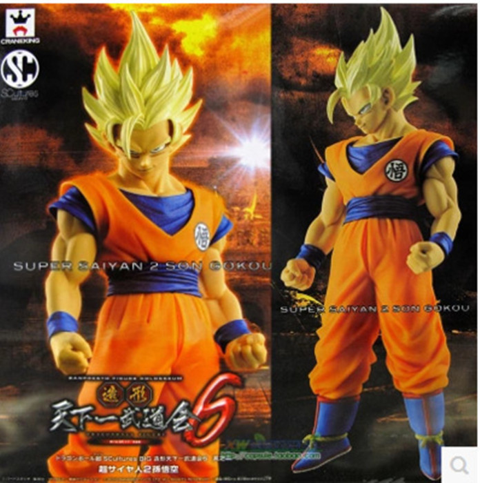 Toys & Hobbies Considerate Banpresto Scultures Dragon Ball Z Son Gokou Action Figure 23cm Dragon Ball Goku Model Toy Figuras Dbz Super Saiyan 2 Son Goku Skilful Manufacture