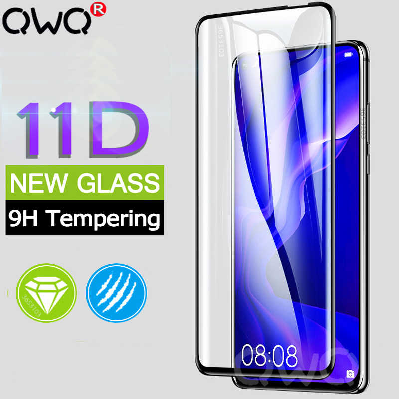 11D Full Cover Tempered Glass For Huawei P20 P30 Mate 20 10 Lite Pro Screen Protector For Huawei P smart 2019 Protective Glass