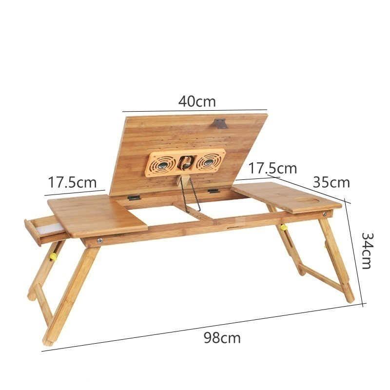 Z#7912 time folding laptop comter bed with a small table desk lazy simple dormitory FREE SHIPPING 250309 folding mobile small desk home bed with simple desk paint steel pipe humanized design lazy bedside laptop desk