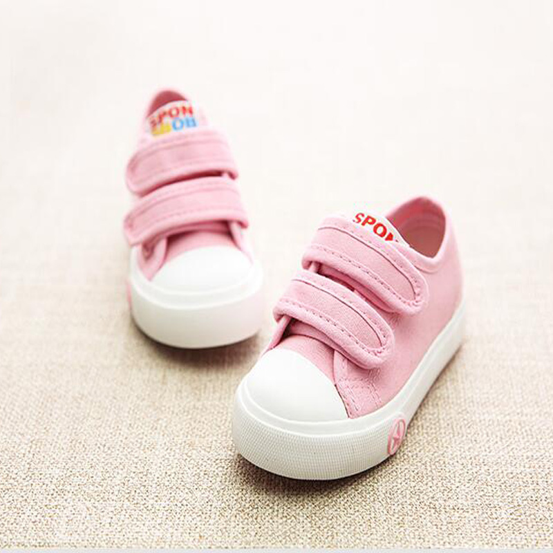 2018 New Hot Sales High Quality Kids Shoes Spring/Summer Cool Baby Girls Boys Fashion Shoes Breathable Noble Canvas Children Sho 2016 winter new soft bottom solid color baby shoes for little boys and girls plus velvet warm baby toddler shoes free shipping