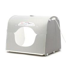 DHL kargo SANOTO softbox fotoğraf stüdyosu fotoğraf ışık kutusu taşınabilir mini fotoğraf kutusu MK50 LED için 220/110 V AB ABD İNGILTERE AU
