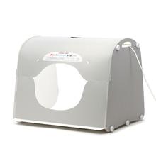 Envío de DHL SANOTO softbox photo studio photography caja de luz portátil mini caja de la foto MK50-LED para 220 / 110 V ue ee.uu. reino unido AU
