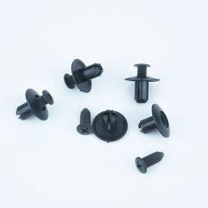 Image 5 - Xiaobaishu 100 pièces, attache universelle pour voiture, trou de 8mm, pare choc en Nylon, pince fixe pour Expansion, vis filetées, Clips intérieurs pour ongles