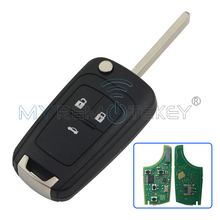 INSIGNIA AVEO CRUZE remote key HU100 434Mhz ID46 Chip for Chevrolet remtekey