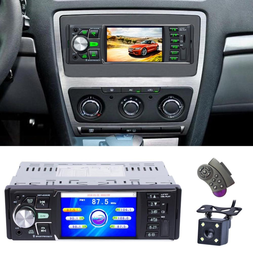Auto car radios 4 0 Inch 1 Din Video Mp5 Player Car FM Radio High definition