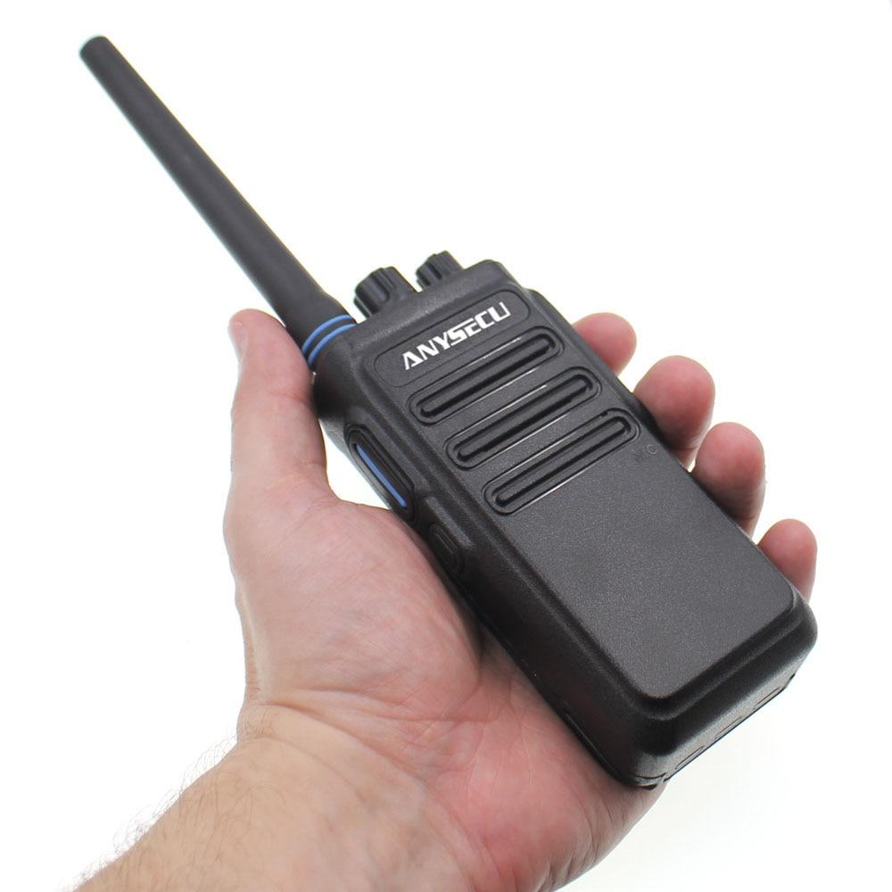 High Power 12W long distance walkie talkie ANYSECU AC 628 UHF Wireless Intercom analog 16CH scrambler Two Way Radio-in Walkie Talkie from Cellphones & Telecommunications