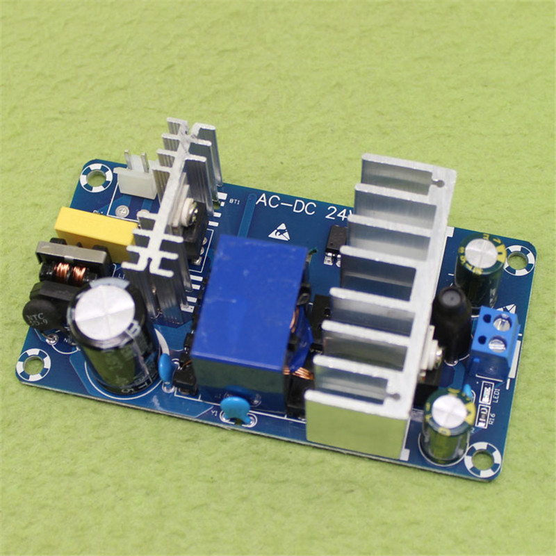 24V switching power supply module 4A to 6A 100W AC-DC power module with socket high power