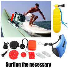 Floaty Grip Surf Set for Go Pro Xiaomi Yi 4k Wrist Strap Anti-fog Interts For Gopro Hero 6 5 4 3 Sjcam Sj4000 Camera Accessories