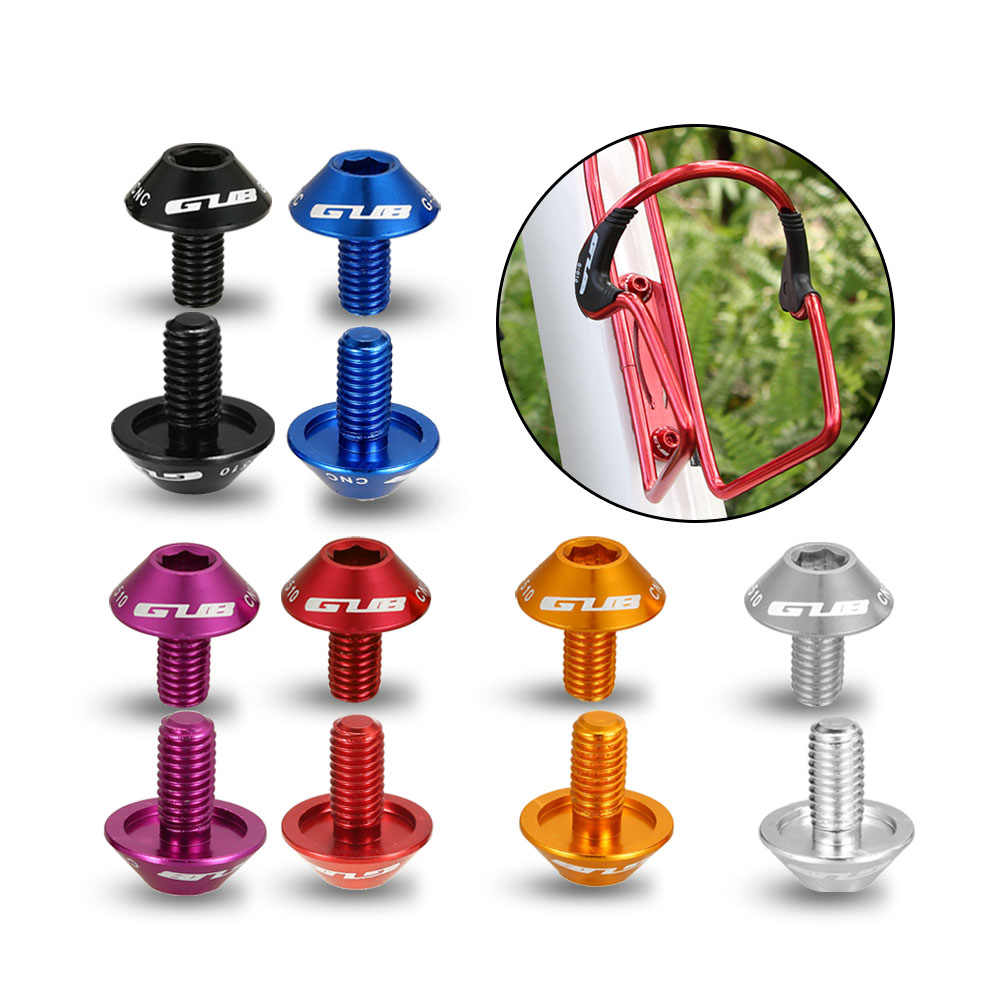 M5x12mm Titanium Bicycle Water Bottle Cage Bolt Bicycle Bottle Holder Screw CZ