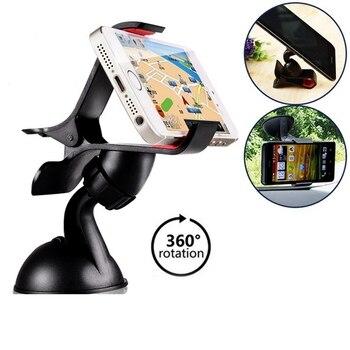 360 GPS voiture pare-brise support pour téléphone support support support GPS housse pour iPhone 5 6 6 S Plus pour Samsung s3 S4 S5 S6 edge HTC