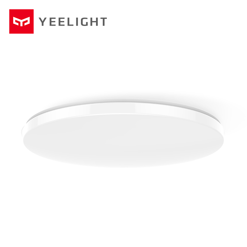 Xiaomi Mijia Yeelight потолочный светильник светодиодный Bluetooth WiFi Пульт дистанционного управления быстрая установка для xiaom Mi home приложение умный дом Комплект - 5
