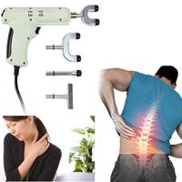 Electric Chiropractic Adjusting Tool Therapy Spine Activator Massager White Blue 2AU16
