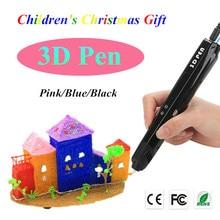 Sechste Generation 3 Farbe 3D Drawing Pens Mit Freiem PLA Filament 3D Druck Stifte Für Kinder Geburtstagsgeschenk Oder Weihnachten geschenk