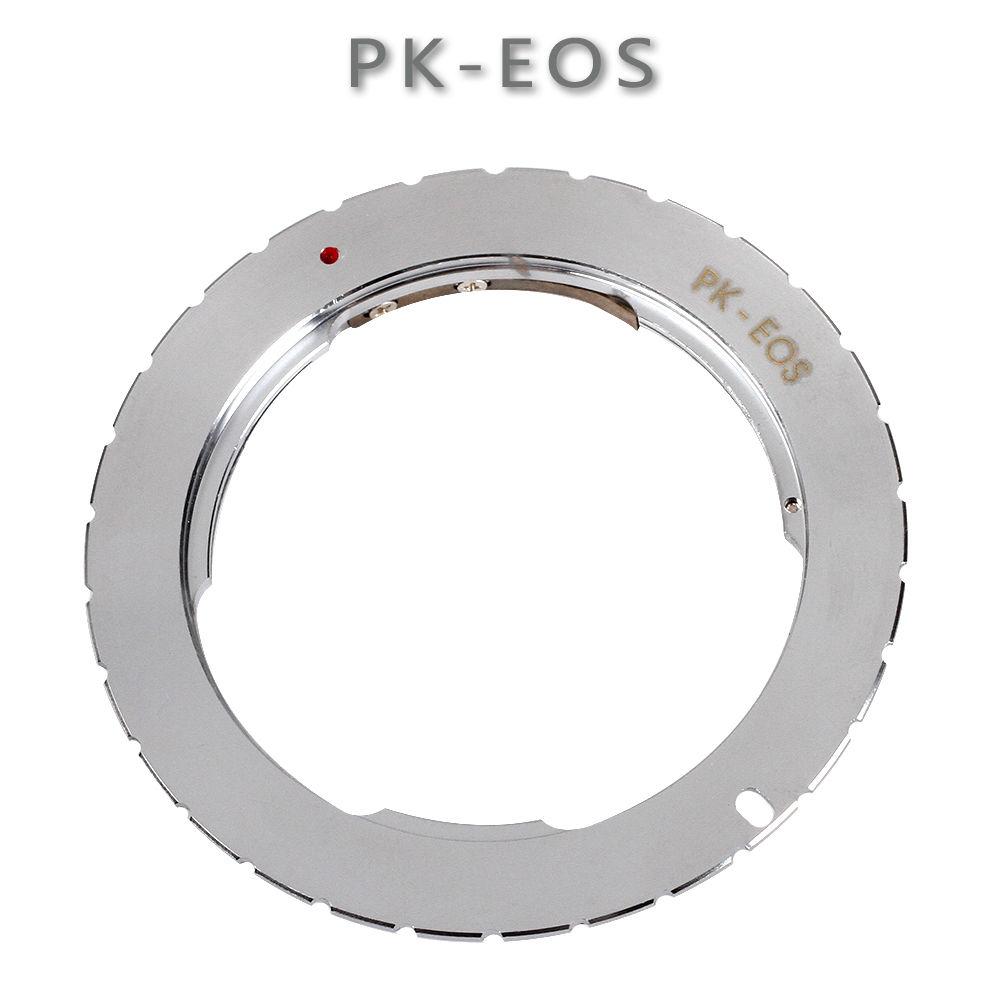 Montaje anillo adaptador para Pentax PK lente para Canon EOS 760D 750D 800D 1300D 70D 7D II 5D III