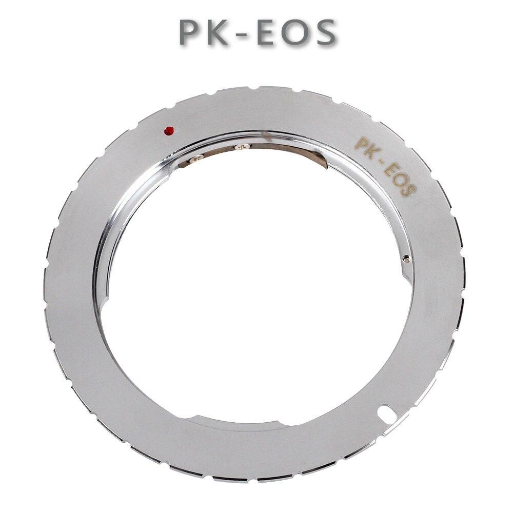 Monte anello Adattatore per Pentax PK Lens per Canon EOS 760D 750D 800D 1300D 70D 7D II 5D III