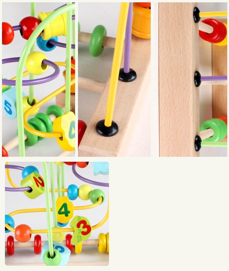 contagem grânulo ábaco montessori materiais matemática brinquedos