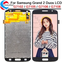 5.25'For Samsung Galaxy Grand 2 Duos Touch Screen G7102 G7105 G7106 G7108 Digitizer Sensor Glass With LCD Display Panel Assembly