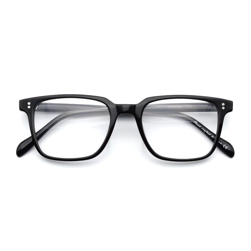 Armações de Óculos Quadrado do Vintage Retrô para Homens e Mulheres ... 4a471be0e0