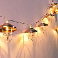 Led String Lights 10 Leds With Unique Lamp Shape Decorative Holiday Lighting Wedding Home Room Decor