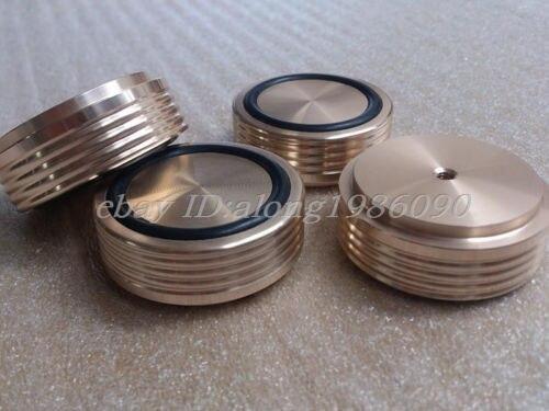 4pcs aluminum machine feet-GOLD Diameter:44mm,high:17mm with screw thread