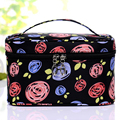 2017 New Fashion Brand Women Waterproof Cosmetic Bags Make Up Travel Toiletry Storage Box Makeup Bag Wash Organizer Cases S037