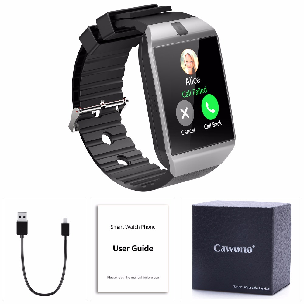 Smart Watch Phone Call 2G GSM SIM TF Card Camera for iPhone Android Samsung HUAWEI PK GT08 A1 4