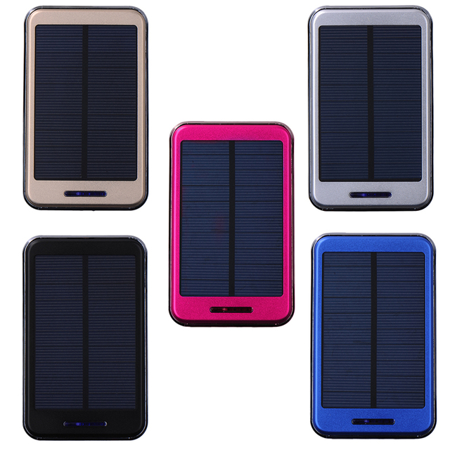 Waterproof Solar Power Bank 8000mAh Hot Sale Drop resistance Travel Portable Charger Enternal Battery Powerbank for Iphone 6 5 4